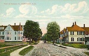 Newport, New Hampshire - Image: Sunapee Street, Newport, NH
