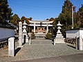 Susanoo Jinja, at Asōda-chō, Toyokawa, Aichi (2018-11-25) 03.jpg