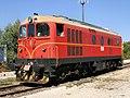 Suzzara - deposito locomotive - locomotiva FER De 501.jpg