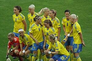 Sweden women's national football team - Sweden in the UEFA Women's Euro 2013.