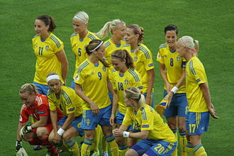 Sweden women's national football team - Sweden in the UEFA Women's Euro 2013.