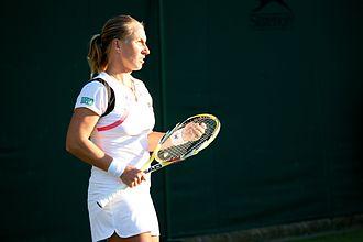 Svetlana Kuznetsova - Kuznetsova at the 2009 Wimbledon Championships