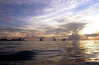 Swallow Reef - Image: Swallow Reef sea 1
