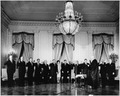 Swearing-In Ceremony of President Kennedy's Cabinet - NARA - 194172.tif