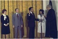 Swearing-in of Andrew Young, U.S. Representative to the United Nations - NARA - 173525.tif