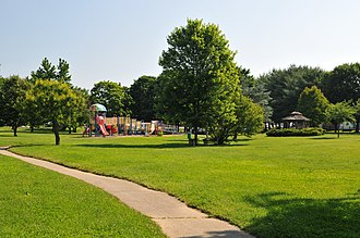 Hockessin, Delaware - Swift Memorial Park in Hockessin