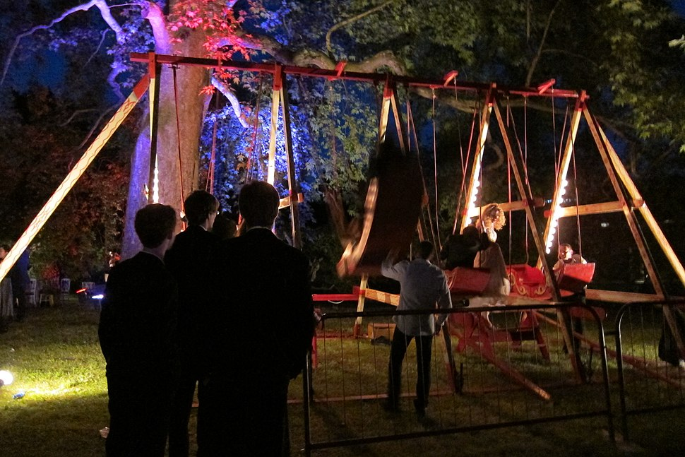 Swing boats, Jesus College May Ball, 2012