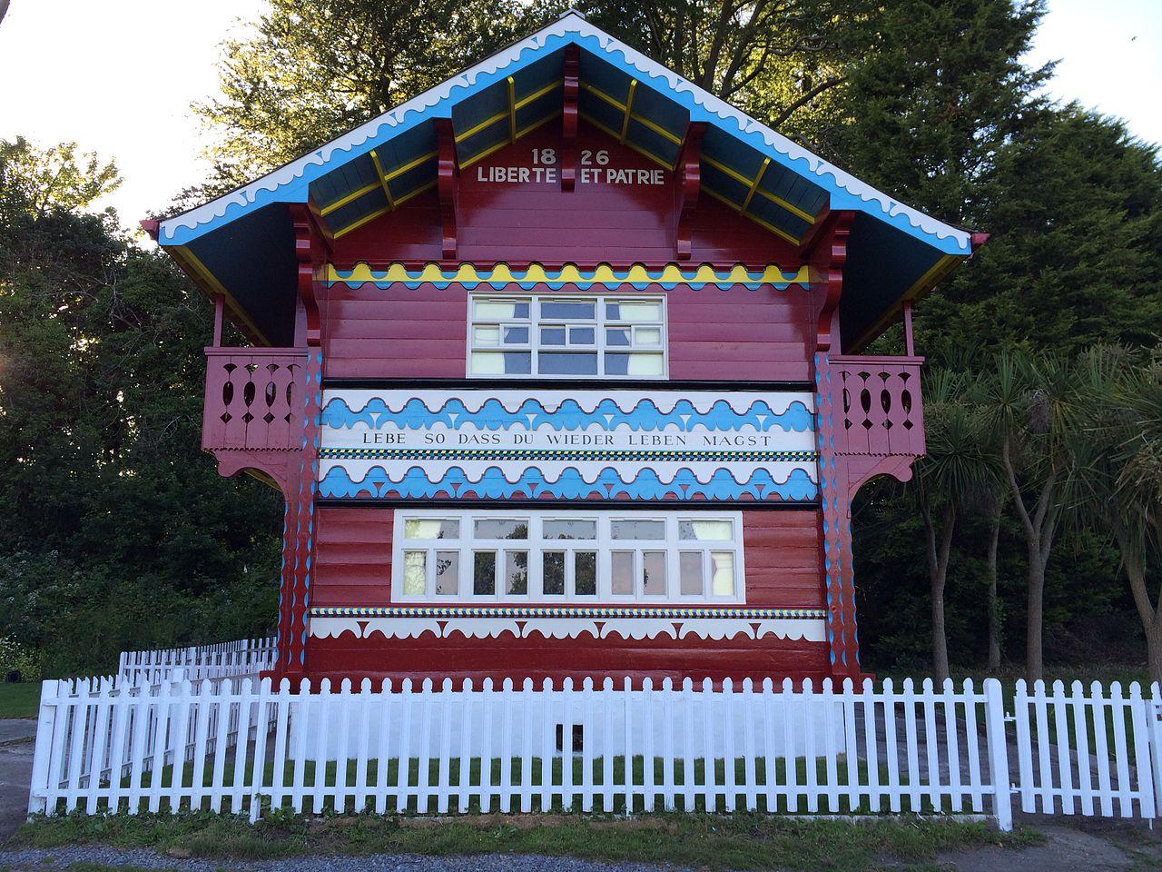 File Swiss Cottage Singleton Park Swansea Wales Jpg Wikimedia Commons
