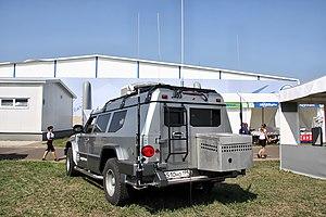 T98 Kombat chassis - MAKS 2011 - rear.jpg