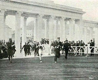 1906 Intercalated Games - The finish of the Marathon