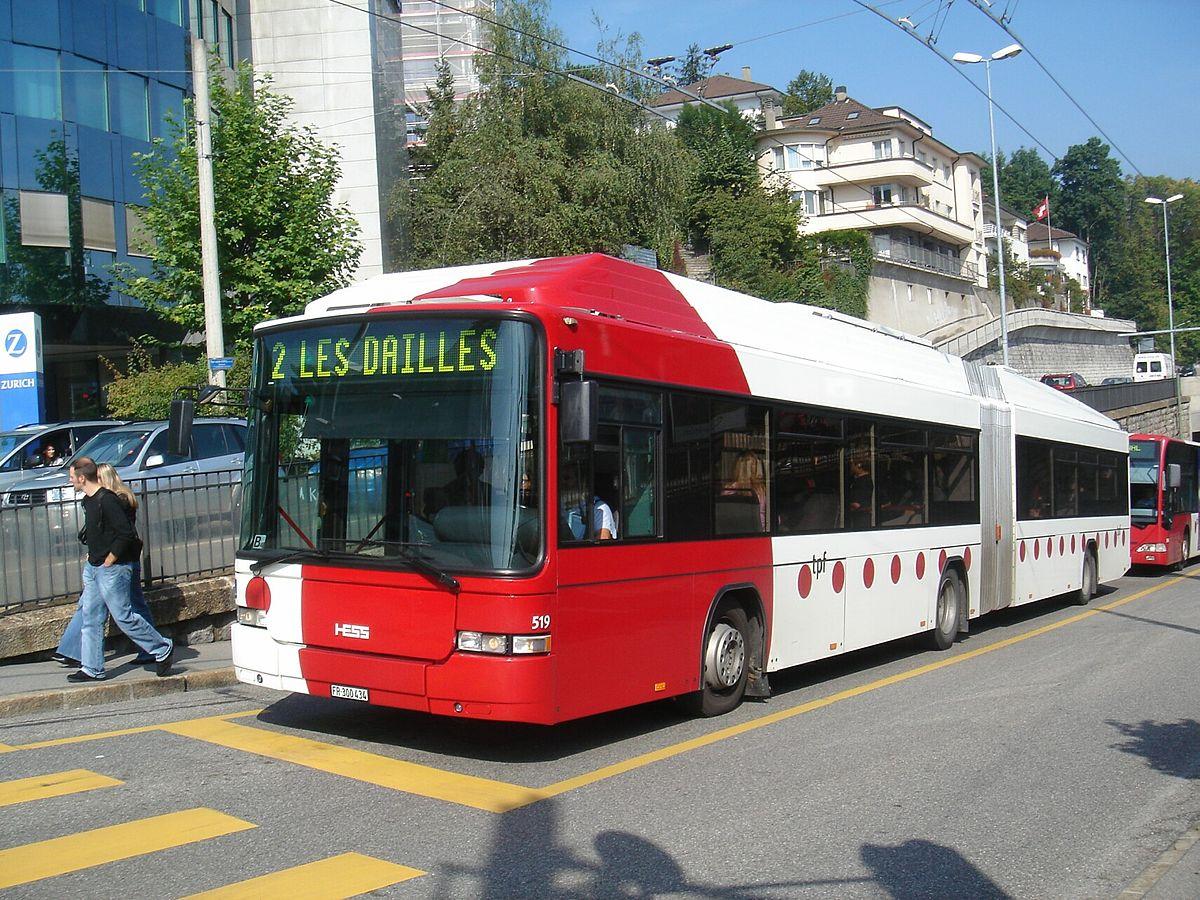 Trolleybus Freiburg Wikipedia