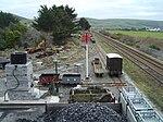Talyllyn Railway Transhipment sidings - 2008-03-18.jpg