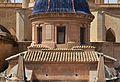 Tambor d'una cúpula de la basílica de santa Maria des de la Calaforra, Elx.jpg