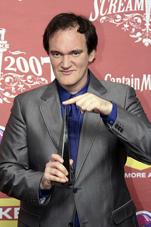American director Quentin Tarantino. Taken at ...