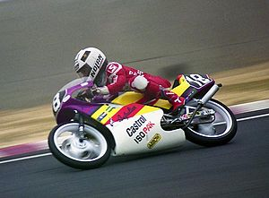 Taru Rinne - Rinne at the 1990 Japanese Grand Prix