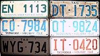 Older Tasmanian registration plates & Vehicle registration plates of Australia - Wikipedia