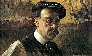 Teófilo Castillo - Self-portrait (detail, c.1910)