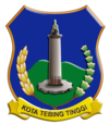 Official seal of Tebing Tinggi