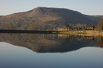 Tegg's Nose - Tegg's Nose from Ridgegate Reservoir