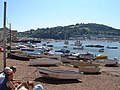 Teignmouth - boats on the Strand foreshore - geograph.org.uk - 484118.jpg