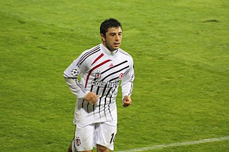 Rodrigo Tello - Tello playing for Beşiktaş in 2009