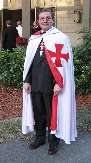 Knights Templar (Freemasonry) - An American freemason in 2009.