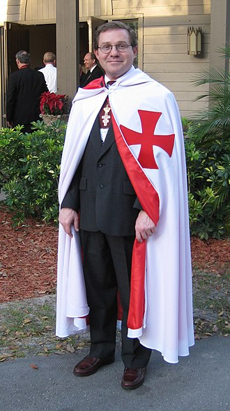 Knights Templar (Freemasonry) - An American freemason in 2009.