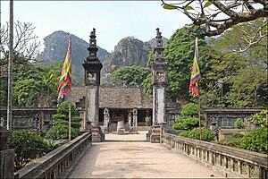 Hoa Lư - The temple of Đinh Tiên Hoàng at Hoa Lư