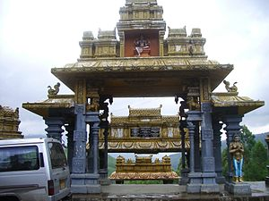 Eastern religions - A Hindu temple in Sri Lanka.