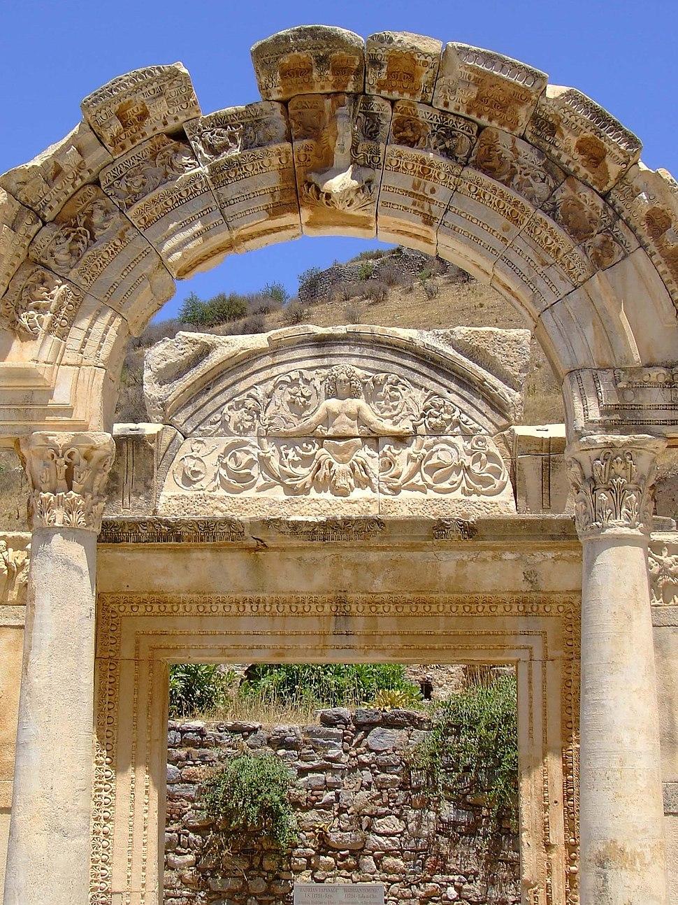 Temple of Hadrian Ephesus 2