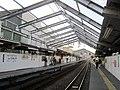 Tennocho Station platform.jpg