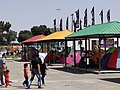 Tents Pitched Outside Holy Shrine of Imam Khomeini - Tehran - Iran (7383401480).jpg