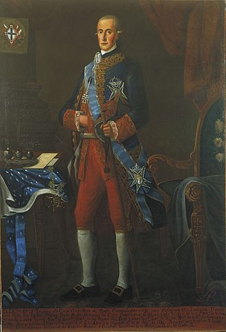 Baztan, Navarre - Teodoro de Croix, (Near Lille, France, 1730 - Madrid, Spain, 1792), Spanish Viceroy of Peru, (1784 -1790)