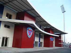 Mersin İdmanyurdu - Mersin İdmanyurdu hosts visitors in this stadium (also called Tevfik Sırrı Gür stadium)