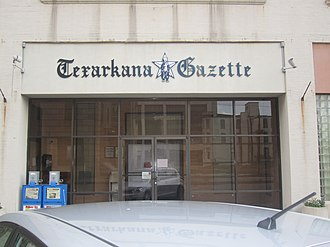 Texarkana Gazette - Texarkana Gazette building in Texarkana, Texas