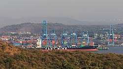 Thane Creek and Elephanta Island 03-2016 - img28 view from Cannon Hill.jpg