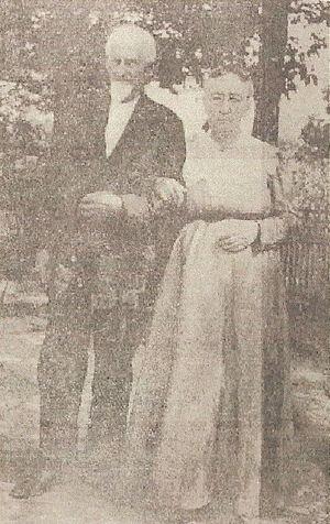 Robersonville, North Carolina - Professor and Mrs. Stephen Outterbridge