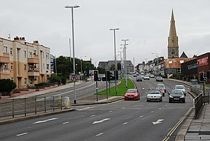 A374 road - The A374 in Plymouth