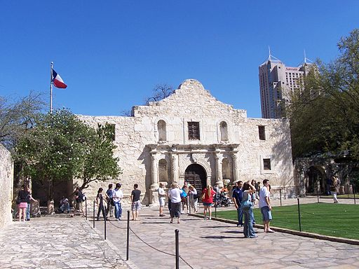 The Alamo front view