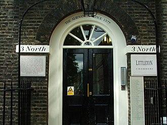 King's Bench Walk, London - The Alienation Office