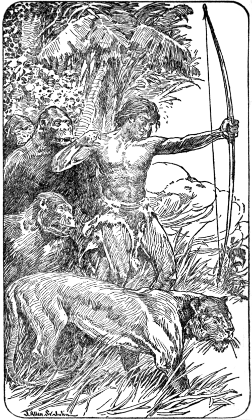 The Beasts of Tarzan - Frontispiece.png
