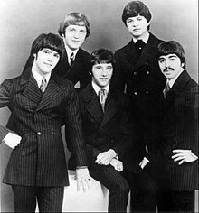 The band in 1968. Left to right: Dennis Tufano, Marty Grebb, John Poulos, Carl Giammarese and Nick Fortuna