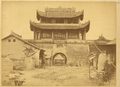 The City Gate Tower in Hanzhong Fu, Shaanxi Province, China, 1875 WDL2095.png