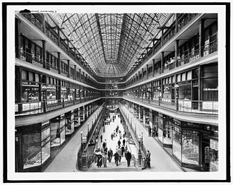 Cleveland Arcade - The Arcade (ca. 1910-1920)