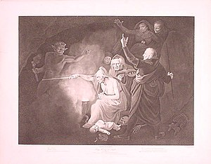 English: The conjuration from Henry VI (Act 1,...