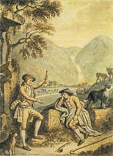 <i>The Gentle Shepherd</i> poem