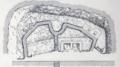 The German L'eclusette blockhouse at Drie Grachten, 1917.png