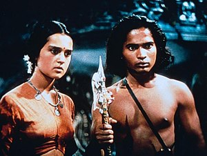 Jungle Book (1942 film) - Patricia O'Rourke and Sabu