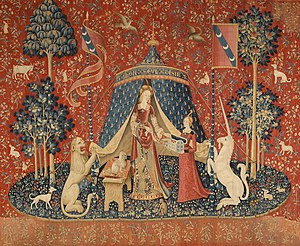 The Lady and the Unicorn - The Lady and the Unicorn: À mon seul désir (Musée national du Moyen Âge, Paris)