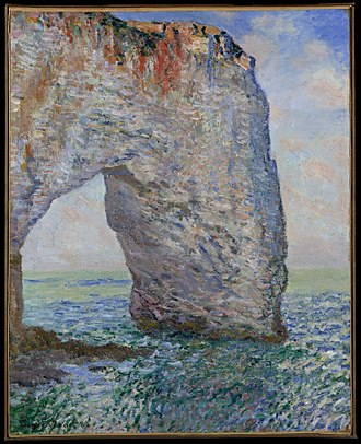 Cornelius Newton Bliss - Claude Monet's The Manneporte near Étretat, owned by Bliss